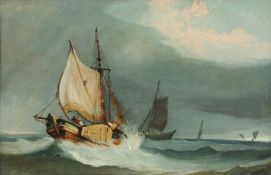 Attributed to Miles Edmund Cotman (British 1810-1858), Approach of a gale