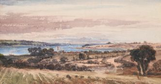 Follower of John Constable, View on the Orwell