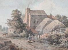 Benjamin Thomas Pouncey (British ?-1799), Hammersmith Common, near the Turnpike