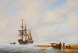 John Wilson Carmichael (British 1800-1868), Coastal scene