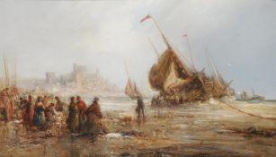 William Edward Webb (British 1862-1903), Peel Castle, Isle of Man