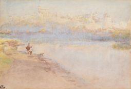Albert Goodwin (British 1845-1932), Windsor