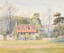 Samuel Pepys Cockerell (British 1844-1921), In Merton Meadows, Oxford