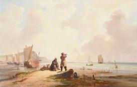 John Frederick Tennant (British 1796-1872), Awaiting the return