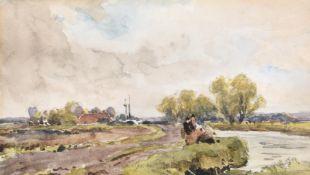 Robert Thorne Waite (British 1842-1935), A Rainy Day