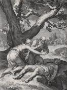 Jan Pietersz Saenredam (After Abraham Bloemaert), Die Geschichte des ersten Menschenpaares