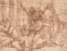 Italian School (early 17th century), The Rape of the Sabine Women