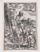 Hans Baldung (German 1484-1545), Saint Martin on Horseback (H.124ii)