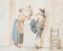 Bartolomeo Pinelli (Italian 1781-1835), Twelve depictions of Italian peasant life