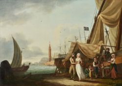 John Thomas Serres (British 1759-1825), Amusement, at Naples ; Industry, at Vietri