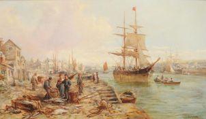 William Edward Webb (British 1862-1903), View on the Dart