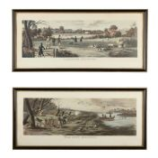 A set of four shooting prints, after T. Sutherland