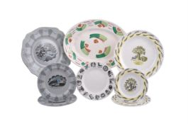 Eric Ravilious for Wedgwood; two part sandwich sets