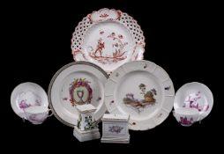 A miscellaneous selection of German ceramics