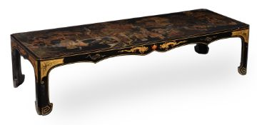 A Chinese lacquer low table
