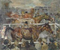 λ Michael Lyne (British 1912-1989), No. 2 'First, second, third'