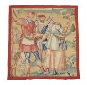 A French tapestry fragment
