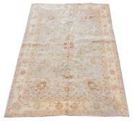 A woven carpet in Ziegler style