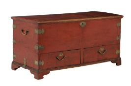 A Chinese camphor coffer