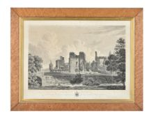 A large group of architectural prints