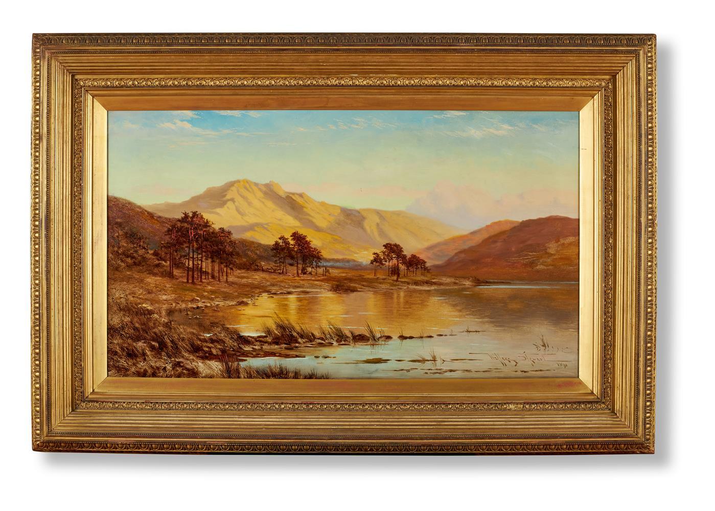 WALLACE STEWART (19TH CENTURY), HIGHLAND LOCH