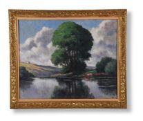 MAXIMILLIEN LUCE (FRENCH 1858-1941), LE GRAND ARBRE, ROLLEBOISE