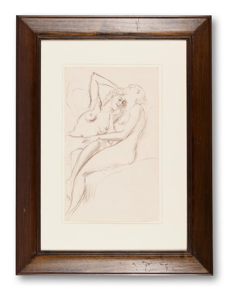 λ AUGUSTUS JOHN (BRITISH 1878-1961), TWO FEMALE NUDES