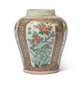A CHINESE 'WUCAI' VASE, 17TH CENTURY