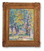 λ ALFRED WOLMARK (BRITISH 1877-1961), TREE STUDY