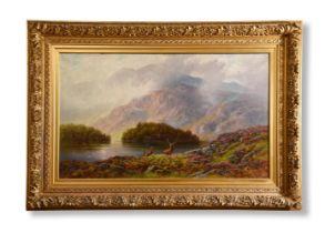 CHARLES STUART (SCOTTISH 1854-1904), ELLEN'S ISLE, LOCH KATRINE