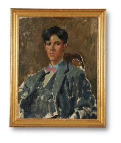 λ AUGUSTUS JOHN (BRITISH 1878-1961), PORTRAIT OF DAVID