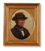 FOLLOWER OF JAMES HAYLLAR, STUDY OF A FARMER