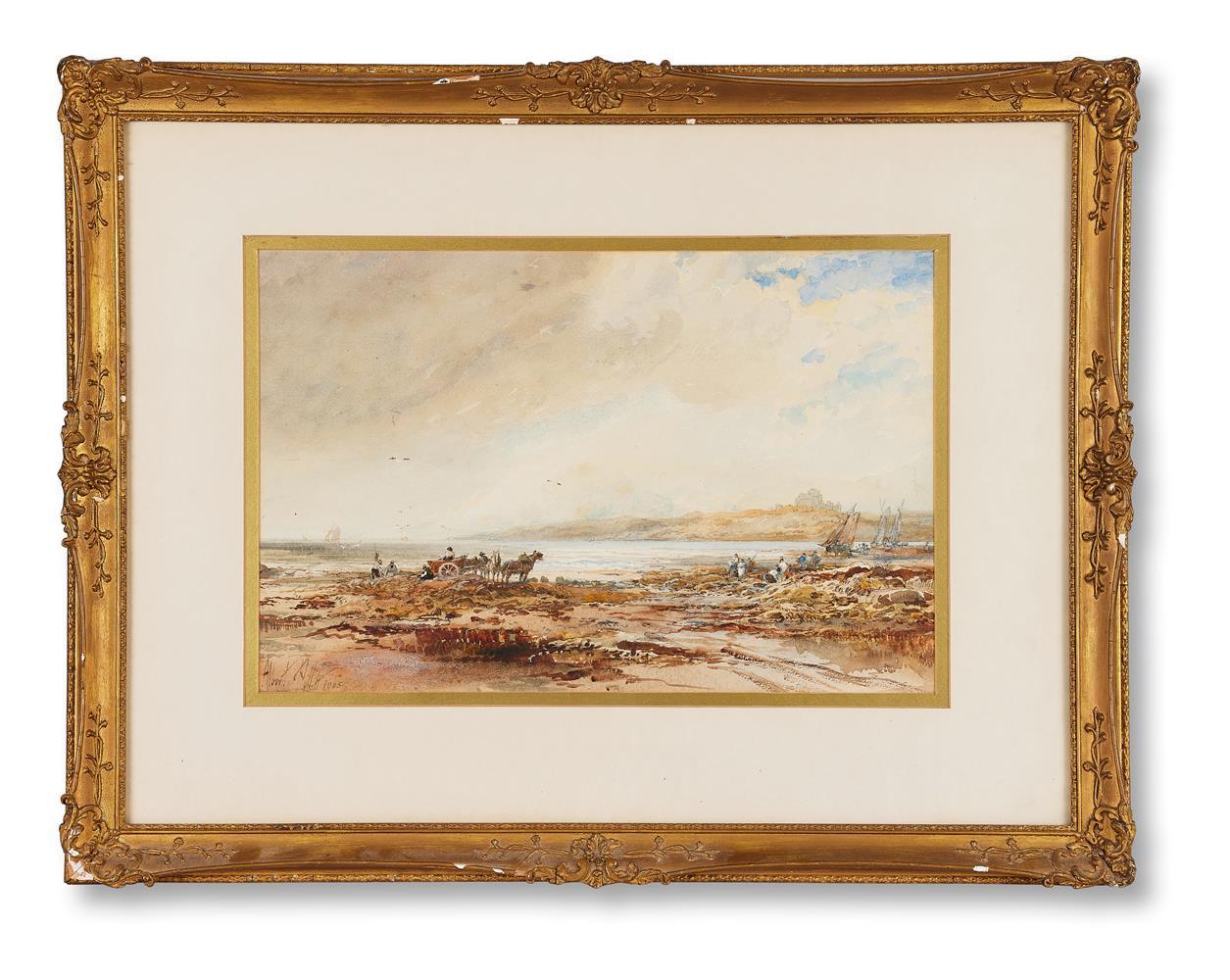 ALBERT POLLITT (BRITISH 1856-1926), KELP GATHERING