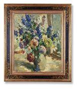 λ DOROTHEA SHARP (BRITISH 1874-1955), STILL LIFE OF SUMMER FLOWERS