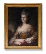 THOMAS GAINSBOROUGH (BRITISH 1727-1788), COUNTESS IN A GOLD DRESS