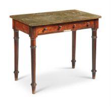 Y AN OAK SIDE TABLE, 19TH CENTURY