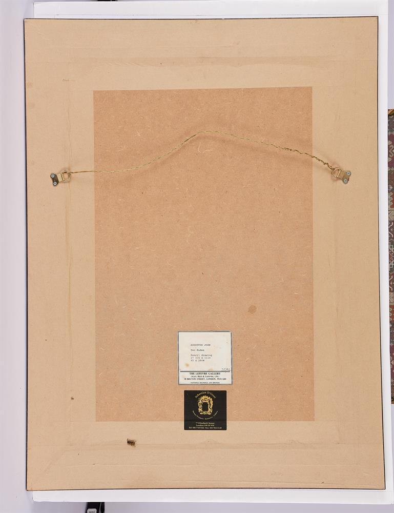 λ AUGUSTUS JOHN (BRITISH 1878-1961), TWO FEMALE NUDES - Image 3 of 3