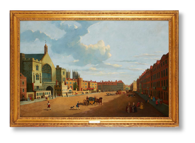 CIRCLE OF JOHN PAUL (BRITISH 19TH CENTURY), NEW PALACE YARD, WESTMINSTER