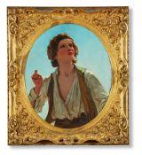 JAMES SANT (BRITISH 1820-1916), MORNING. IT'S THE LARK! THE HERALD OF MORN