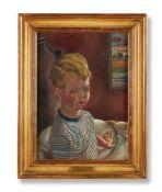 λ STANLEY SPENCER (BRITISH 1891-1959), PORTRAIT OF ANDREW NICHOLAS FRANK (AGED 2 1/2 YRS) RESTING