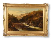 JAMES STEPHEN GRESLEY (BRITISH 1829-1908), THE WATERFALL
