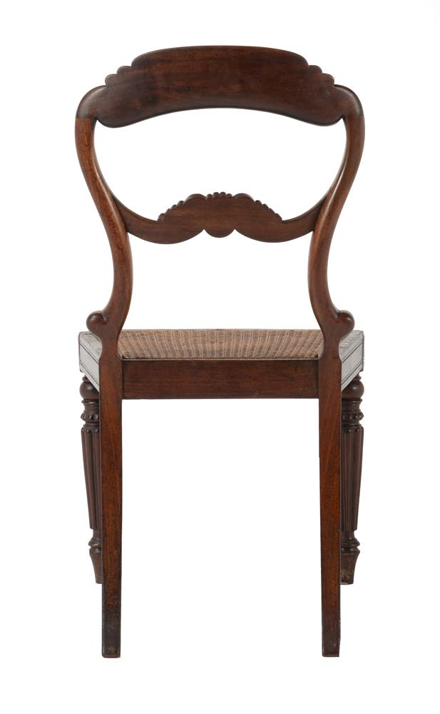 A SET OF EIGHT WILLIAM IV MAHOGANY DINING CHAIRS, CIRCA 1835, ATTRIBUTED TO GILLOWS - Image 9 of 9