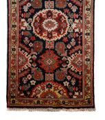 A ZIEGLER MAHAL RUNNER, approximately 411 x 97cm