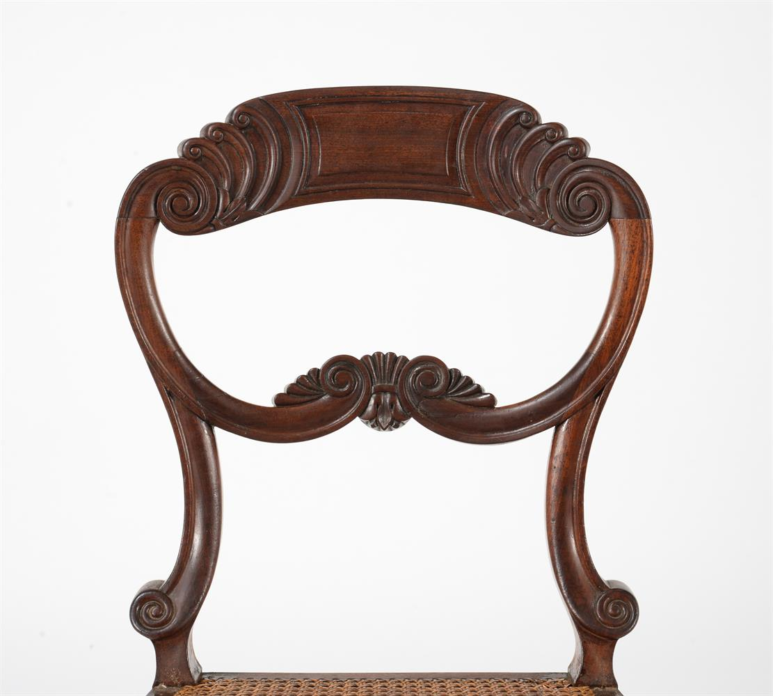 A SET OF EIGHT WILLIAM IV MAHOGANY DINING CHAIRS, CIRCA 1835, ATTRIBUTED TO GILLOWS - Image 7 of 9