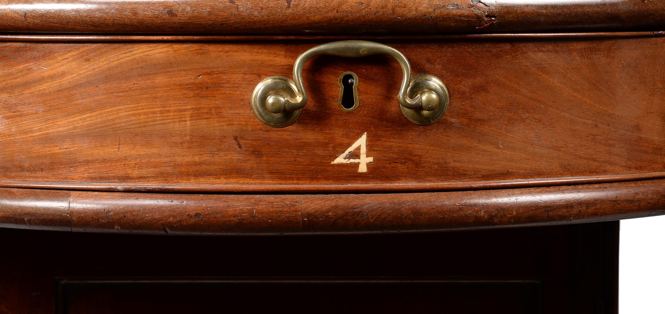 A GEORGE III MAHOGANY LIBRARY OR RENT TABLE, CIRCA 1780 - Image 3 of 7