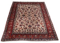 AN ISFAHAN CARPET, approximately 414 x 315cm