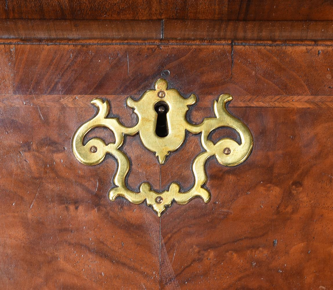 A GEORGE II WALNUT BUREAU BOOKCASE, CIRCA 1740, IN THE MANNER OF GILES GRENDEY - Image 5 of 9