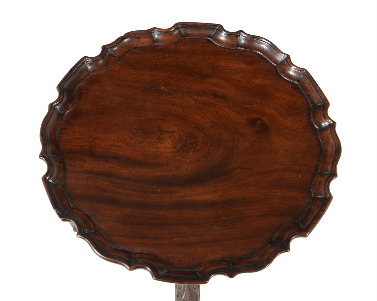 A GEORGE II MAHOGANY CANDLE STAND, CIRCA 1755 - Image 2 of 3