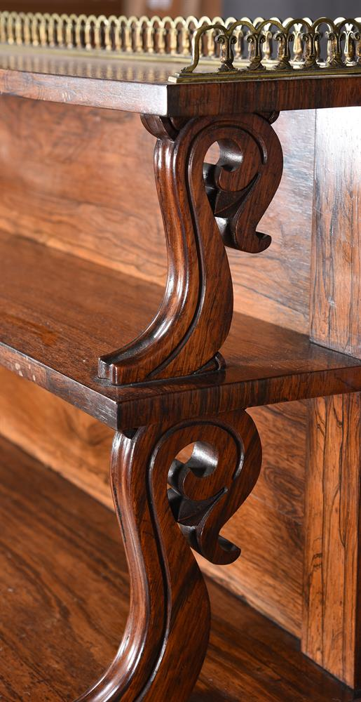 Y A WILLIAM IV ROSEWOOD SIDE CABINET, CIRCA 1835 - Image 4 of 6