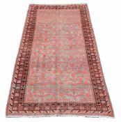 A SAMARKAND GALLERY CARPET, approximately 337 x 168cm